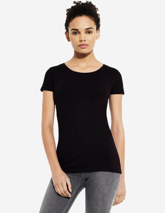 Women's Classic Stretch Tshirt | Black