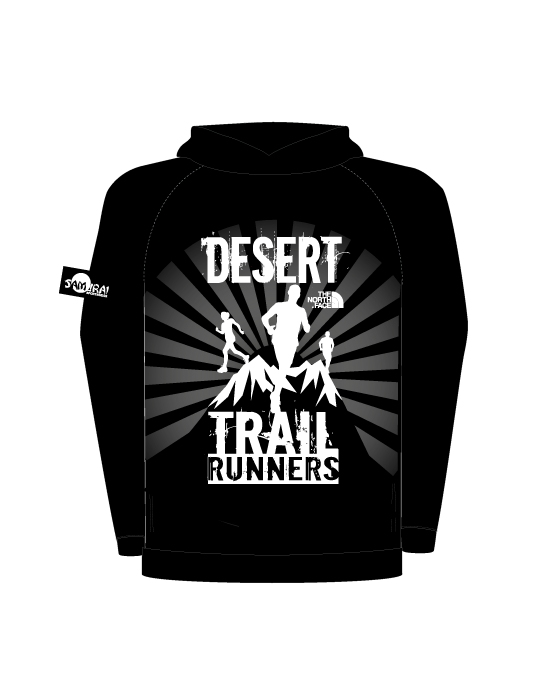 Desert Trail Runners Unisex Hoodies