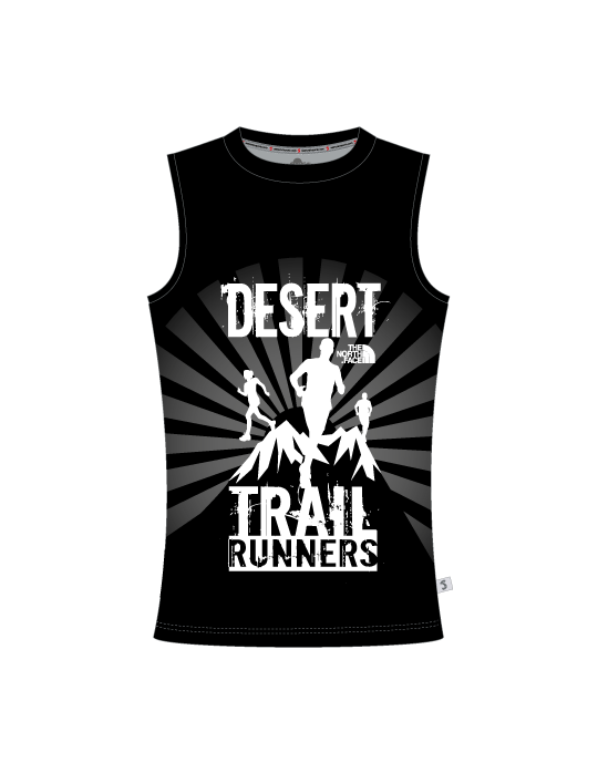 Desert Trail Runners Ladies Round Neck Vest