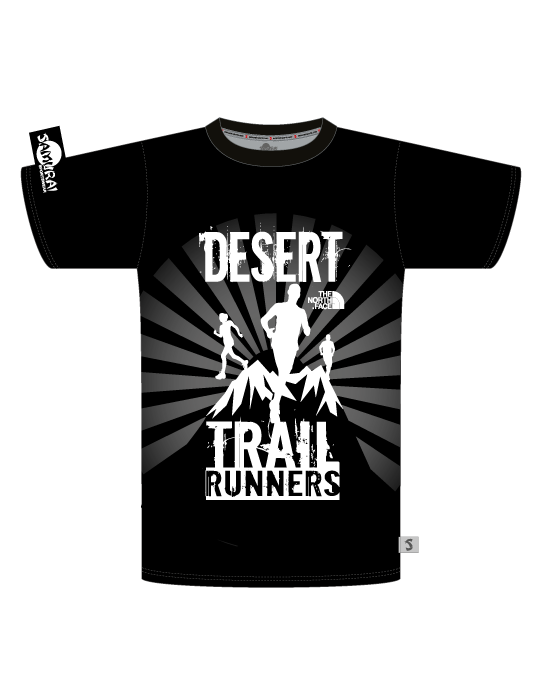 Desert Trail Runners Mens Tshirt