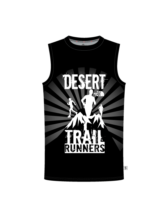 Desert Trail Runners Mens Round Neck Vest