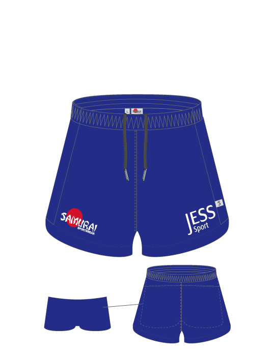 Girls PE Shorts with Under Shorts | Yr 4 to Yr 12