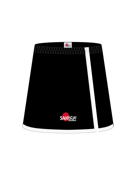 Netball Skort Design Washington | Black/White