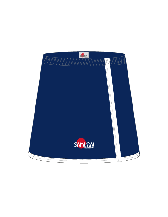 Netball Skort Design Washington | Navy/White