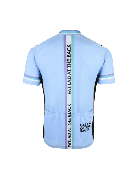 N'Ice Blue Short Sleeve Cycling Jersey