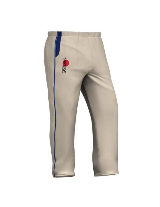 Cricket Trouser | Cream/Maroon