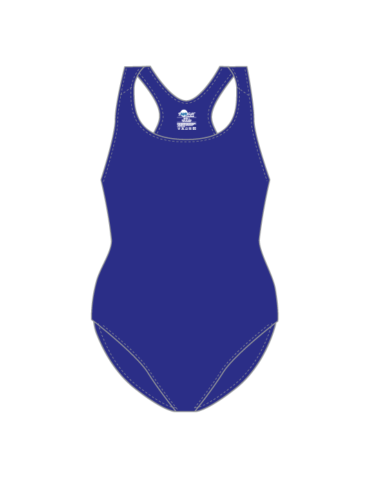 Ladies Pro Swim Suit | Royal Blue