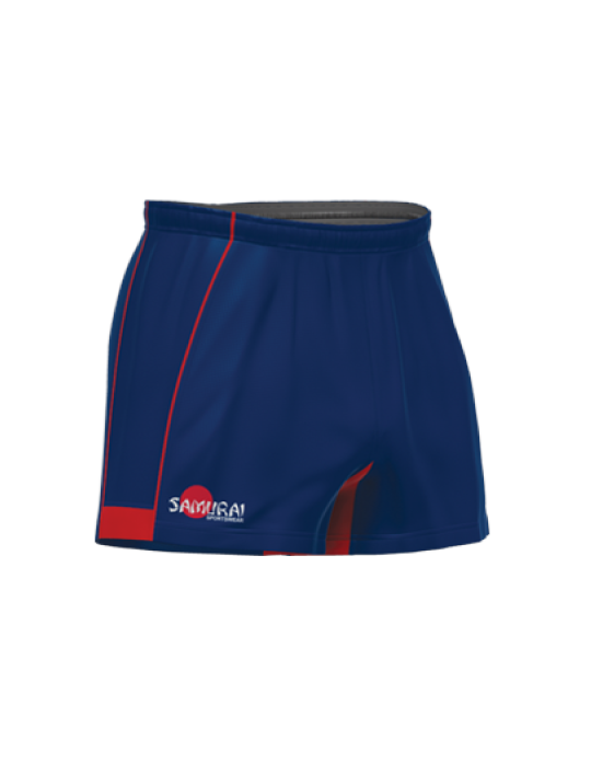 Premier Rugby Short | Navy/Red