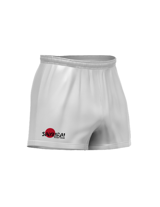 Ecomax Rugby Short | White