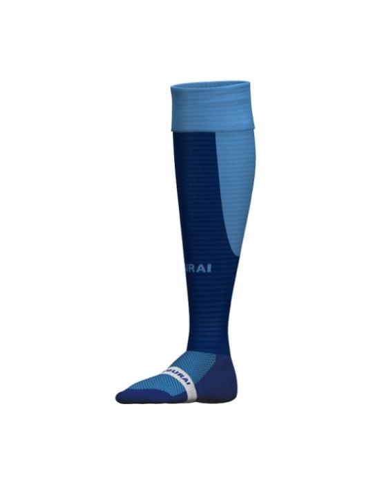 Tri Nation Socks | Navy/Sky