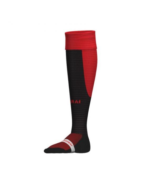 Tri Nation Socks | Black/Red