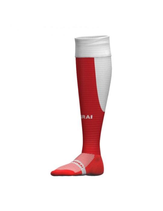 Tri Nation Socks | Red/White
