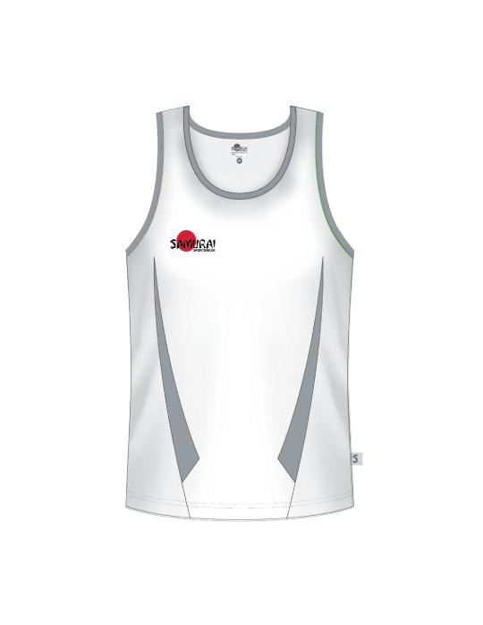 Classic Vest | White/Grey